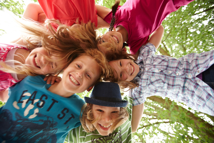 Klangpädagogik Kinder im Kreis