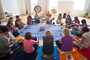 Gruppenfoto Ausbildung Klangmassage