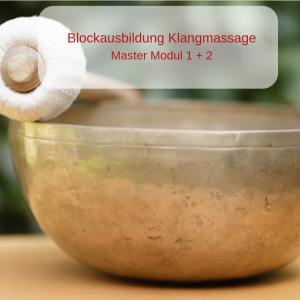 Blockausbildung Klangmassage Modul 1+2