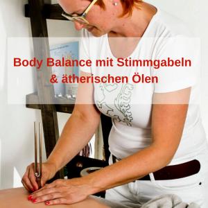 Body Balance mit Stimmgabeln & ätherischen Ölen