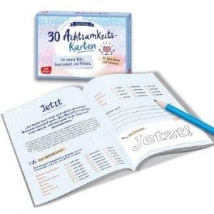 Set Achtsamkeitskarten Achtsamkeitsjournal